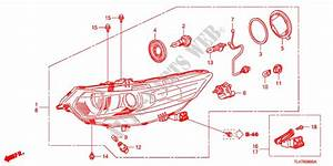 Headlight For Honda Cars Accord Tourer 2 2 Ex 5 Doors 5