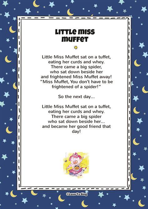 muffet rhyme  video song lyrics