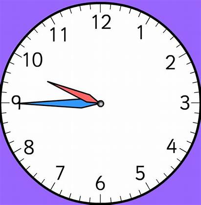 Clock Analog Clipart Analogue Blank Face Template