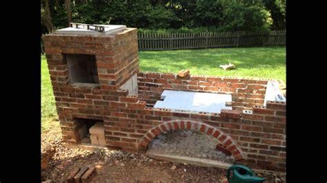 building  brick barbecue