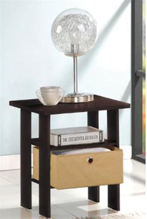 furinno 11157ex br 99978e espresso living set end table
