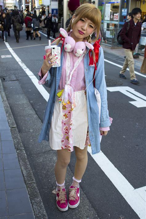 harajuku street style faded