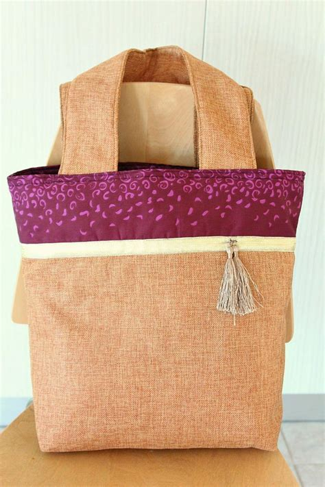 color block tote sewing pattern allfreesewingcom