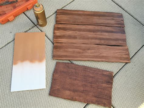 how to make a wood grain effect manning makes stuff
