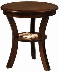 Carlton 22 Inch Round End Table Countryside Amish Furniture