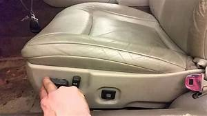 2000 Cadillac Deville Front Seat Removal