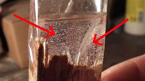 air bubbles   resin     rid