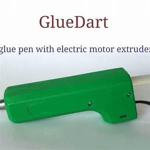 stl gratuit gluedart stylo a colle avec etui d39extrudeuse With lovely cree sa maison en 3d 2 maison archi constructeur