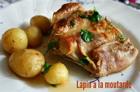 cuisiner le lapin à la moutarde lapin à la moutarde cooking