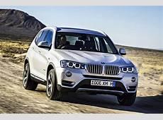 The 2015 BMW X3 gets updates