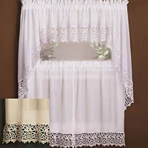 amazon com isabella kitchen curtains swags antique