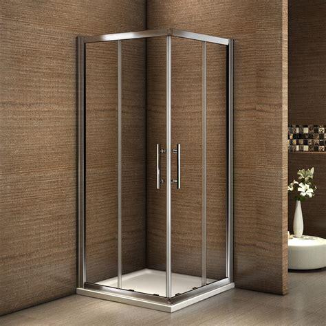 duschkabine glas eckeinstieg duschkabine duschabtrennung schiebet 252 r esg glas dusche