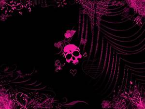 Pink Skull by Daemonika on DeviantArt