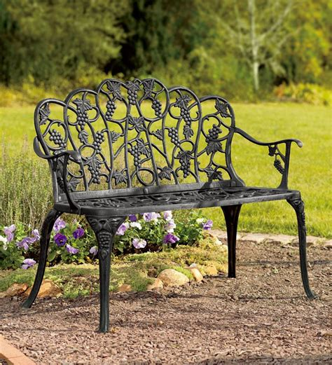 Rod Iron Benches by Garden Benches To Enhance Your Outdoor Space