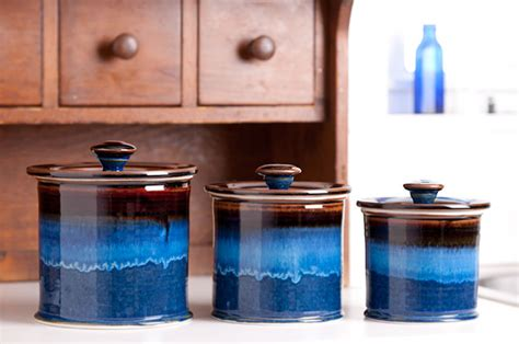 georgetown pottery straight canister set