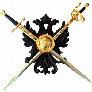 Spanish Crossed Swords and Shield. Wall Hanging. Toledo ...