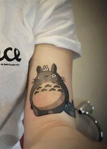 @Lorraine Williams León Totoro tattoo | Tatoo | Pinterest ...