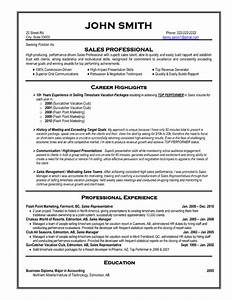 click here to download this sales professional resume With resume templates for it professionals free download