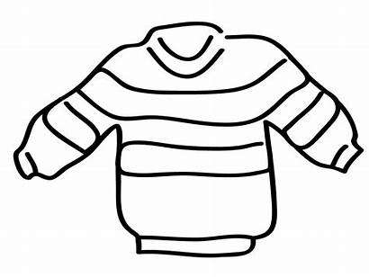 Clip Coloring Words Abcteach Sweater Basic Clipart
