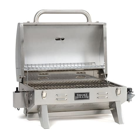 tailgate grill portable stainless steel gas grill tailgate cing grill propane tabletop new ebay