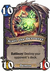 Azari The Devourer Hearthstone Card