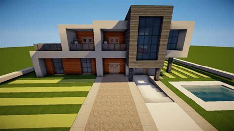 Minecraft Großes Modernes Haus Bauen Tutorial [german