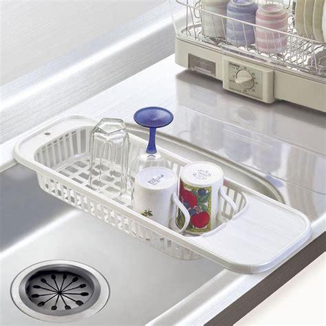 kitchen sink drain rack insert countertop organizer rack dish drying rack drainer fruit corner