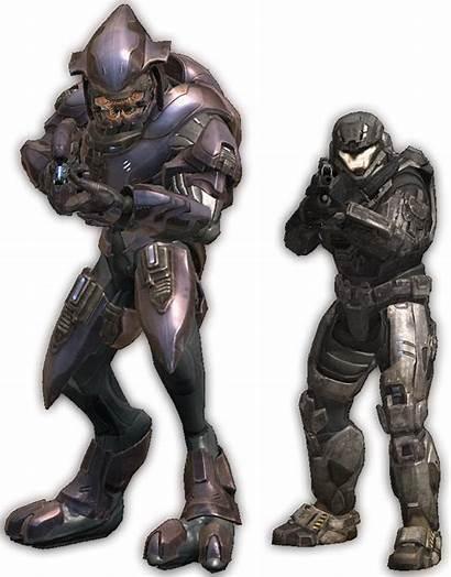 Elite Reach Spartan Comparison Halo Biped Master