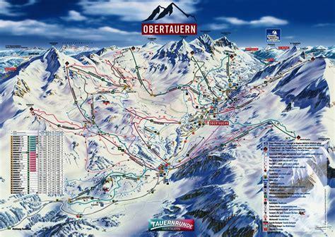 pistenplan skigebiet obertauern salzburger land