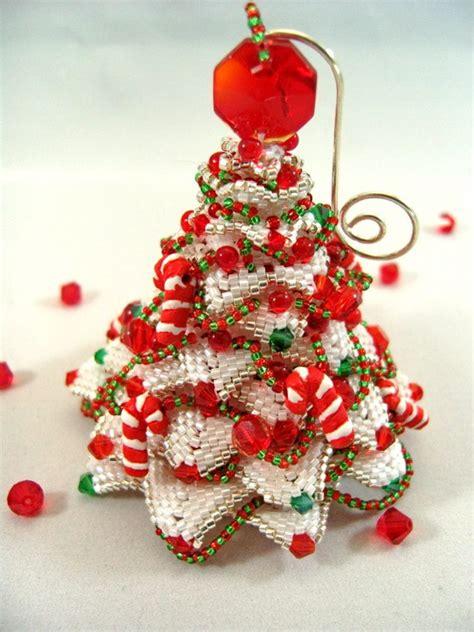 amazing beadwoven christmas ornaments  christine heidema