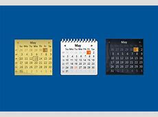 Windows Live Calendar Windows 10 Gadget Win10Gadgets
