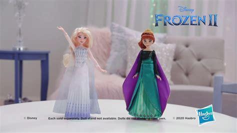 disney frozen  musical adventure anna doll singing