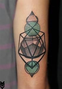 15 Breath-Taking Sacred Geometry Tattoos | Tattoodo