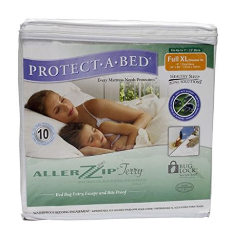 protect a bed mattress cover protect a bed allerzip bed bug mattress cover full xl