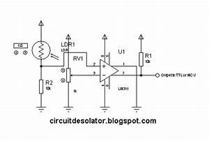 circuit desolator simple analog comparator circuit using With comparator