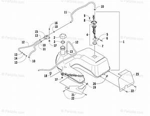 Arctic Cat Atv 2008 Oem Parts Diagram For Gas Tank