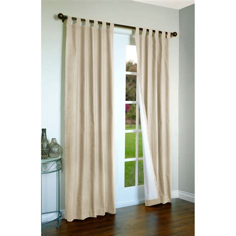 thermalogic weathermate curtains 160x 84 quot tab top
