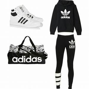 Black And White Adidas Outfits | www.pixshark.com - Images Galleries With A Bite!
