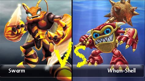 Swarm (15) Vs. Wham Shell S1 (13) Let's Play Skylander