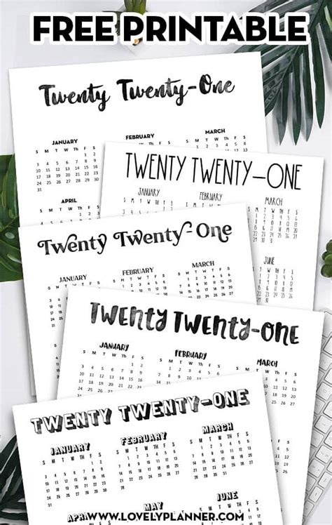 calendar  printable  page lovely planner