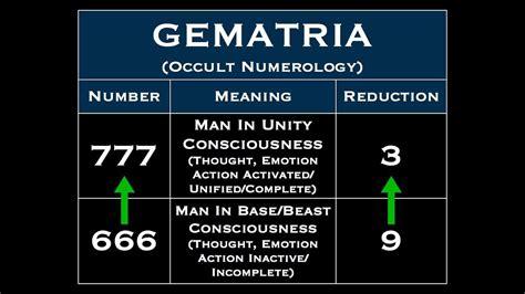 Illuminati Numerology 666 And 911 Numerology