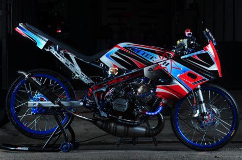 Foto Modifikasi R by Kumpulan Modifikasi Kawasaki R 150 Thaillok Style