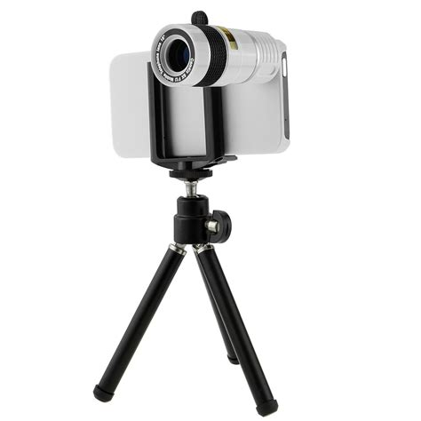 iphone 5 zoom 8x zoom telescope lens for apple iphone 5 5s with tripod