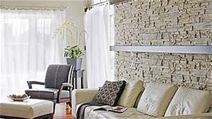Decoration Mur Interieur Salon : les murs de pierres ~ Teatrodelosmanantiales.com Idées de Décoration
