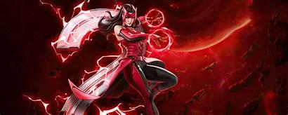 Scarlet Witch Marvel War Resolution 4k Published