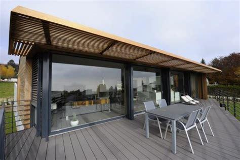 terrasse couverte toit transparent