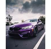BMW F82 M4 Individual Purple Silk Metallic  M Series