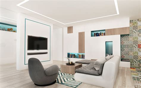 4 Small Studio Apartments Decorated In 4 Different Styles All 50 Square Meters With Floor Plans by 4 Small Studio Apartments Decorated In 4 Different Styles