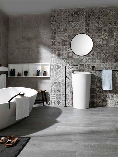 bathroom tile feature ideas 83 best grey bathrooms images on modern