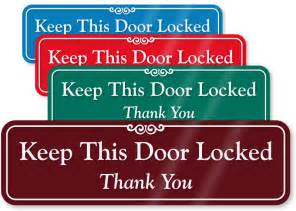 Magnet Cabinet Lock by Lock Doors Signs